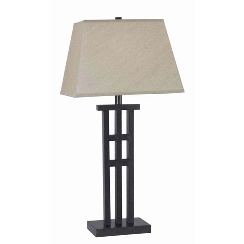 Kenroy Home McIntosh Bronze Table Lamp