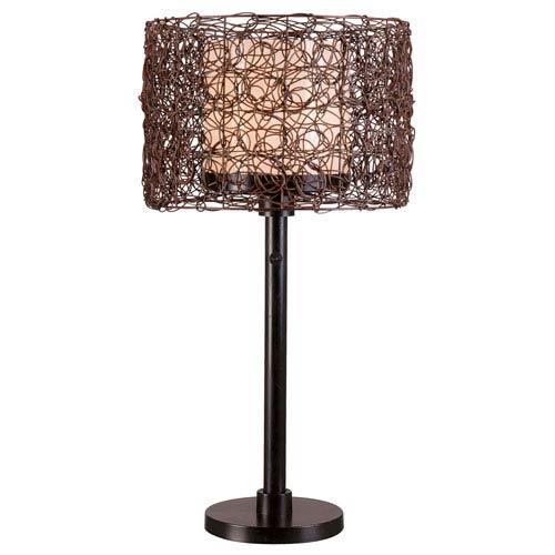Tanglewood Bronze Outdoor Table Lamp