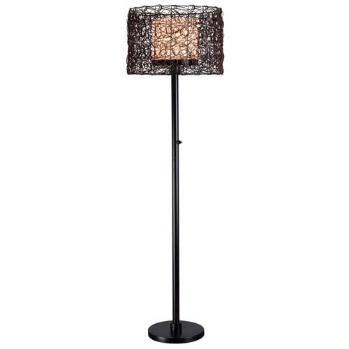 Kenroy Home Tanglewood Bronze Outdoor Floor Lamp