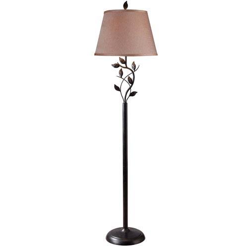 Kenroy Home Ashlen Oil Rubbed Bronze Floor Lamp