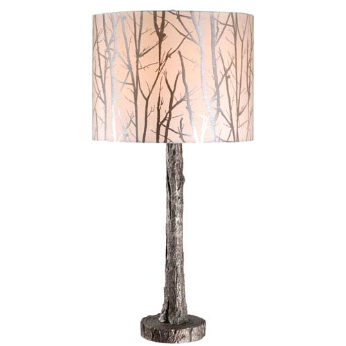 Fleetwood Antique Silver One-Light Table Lamp