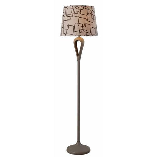 Parfume Gray One-Light Floor Lamp