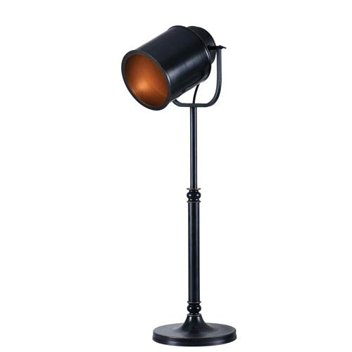 Kenroy Home Allen Oil Rubbed Bronze One-Light Table Lamp