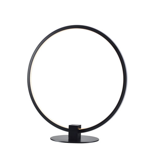 Aurora Black 14-Inch LED Table Lamp