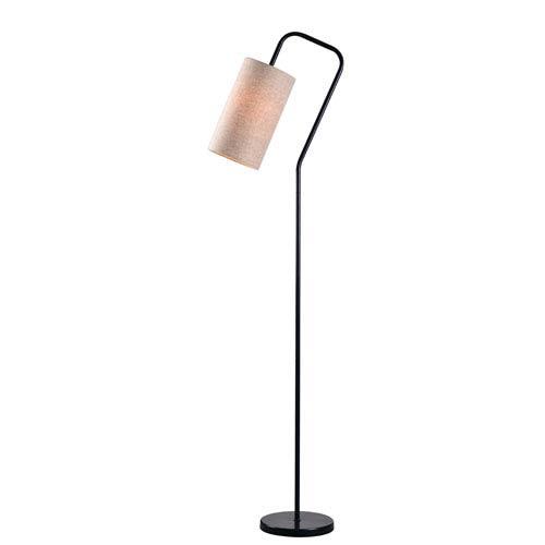Kenroy Home Flamingo Bronze One Light Floor Lamp