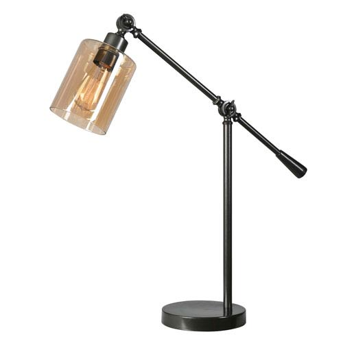 Thornton Warm Bronze One-Light Desk Lamp
