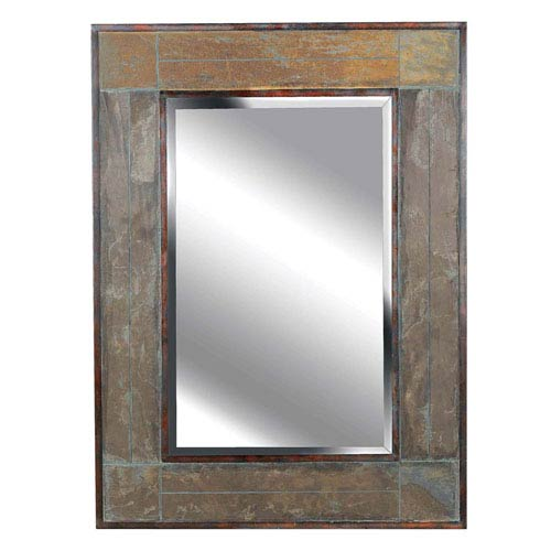 White River Natural Slate Wall Mirror