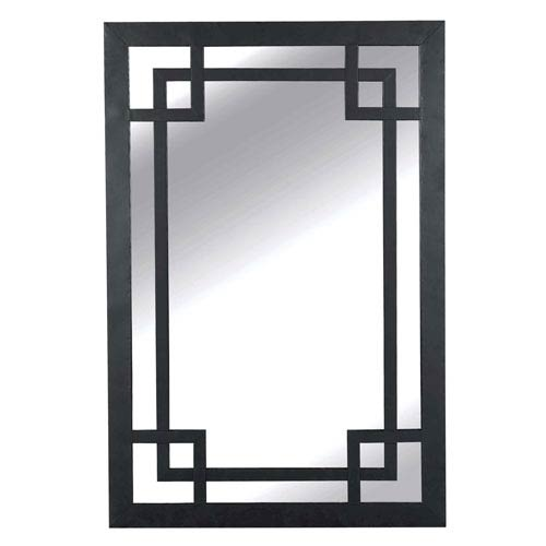 Kenroy Home Jacob Dark Bronze Wall Mirror