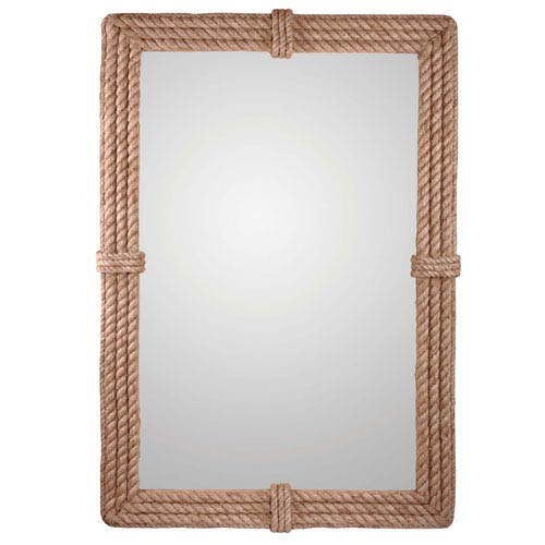 Rudy Natural Rope Wall Mirror