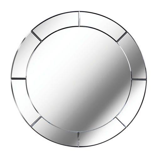 Miere Cut Glass Wall Mirror