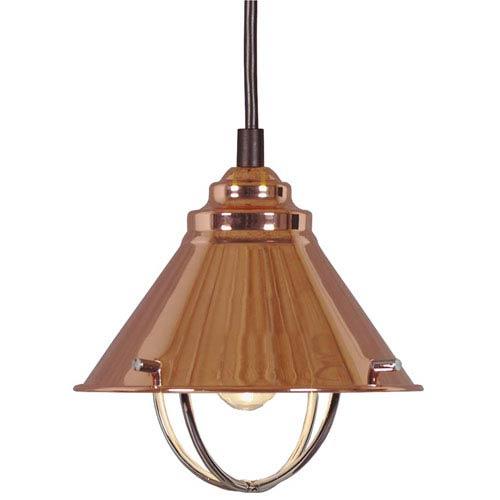 Harbour Copper One-Light Candelabra Mini Pendant