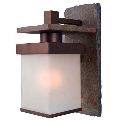 Boulder Large Copper Outdoor Sconce
