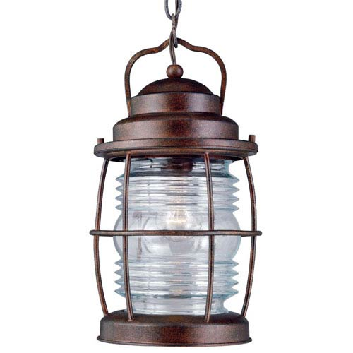 Beacon Gilded Copper Outdoor Hanging Lantern