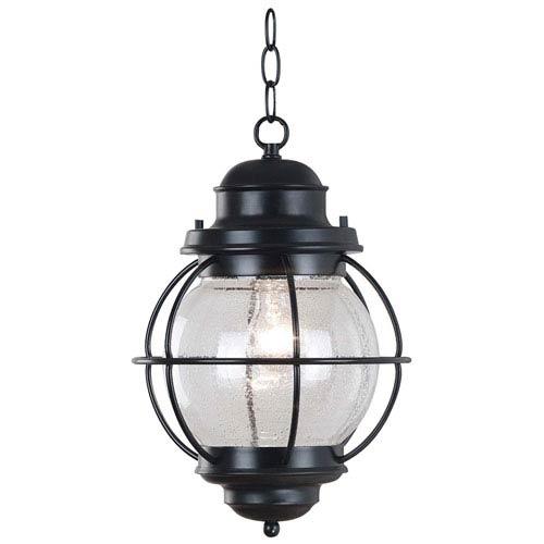Kenroy Home Hatteras Black Outdoor Hanging Lantern