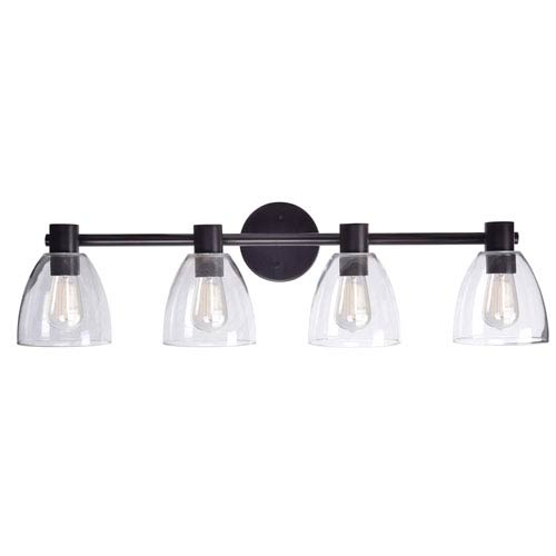 Kenroy Home Edis Oil Rubbed Bronze Four-Light Vanity