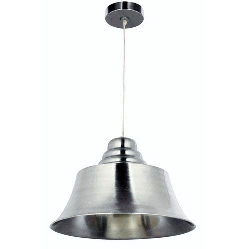 Kenroy Home Spinnaker Brushed Steel One-Light Pendant