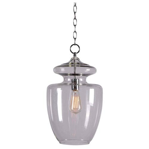 Kenroy Home Apothecary Chrome One-Light Pendant