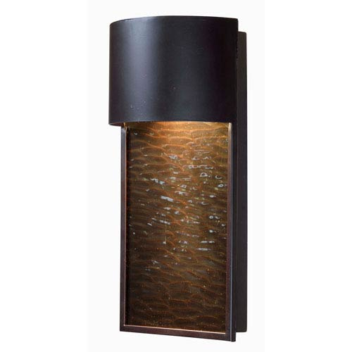 Lightfall Oil Rubbed Bronze One-Light Outdoor Wall Sconce