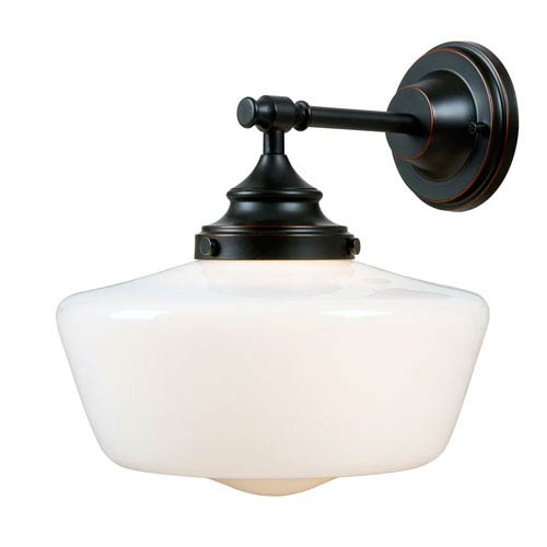 Cambridge Oil Rubbed Bronze One-Light Wall Sconce