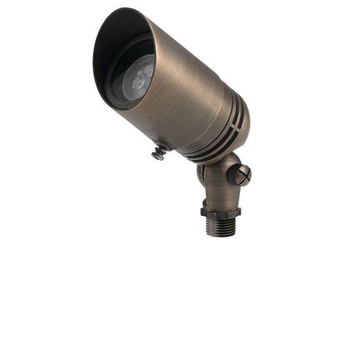 Kichler Centennial Brass One-Light Landscape Accent Light with Fixed Socket