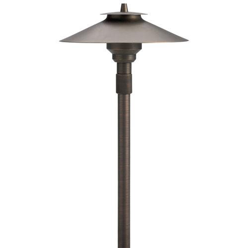 Centennial Brass 20-Inch One-Light Adjustable Landscape Path Light