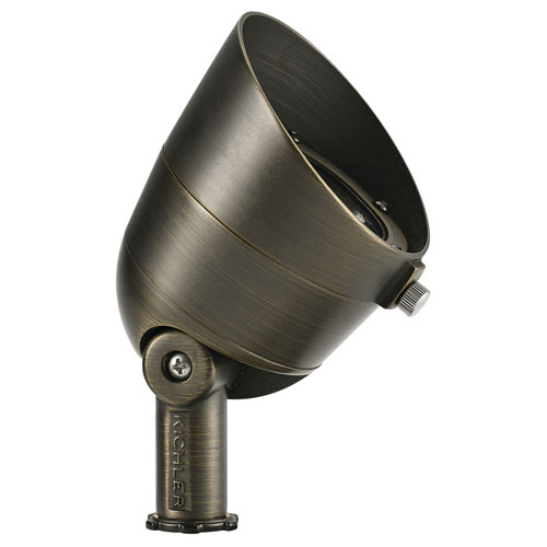 Centennial Brass 200 Lumen 2700K LED 10 Degree Landscape Spot Light