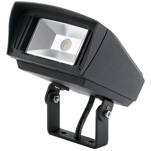 Kichler Textured Black 120-277V 1000 Lumen 4000K LED Landscape Flood Light