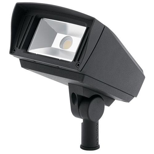 Textured Black 120-277V 2000 Lumen 4000K LED Landscape Flood Light