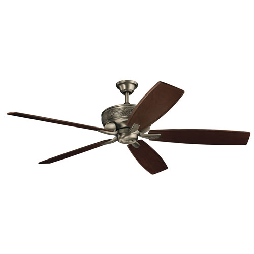 Monarch Burnished Antique Pewter Ceiling Fan
