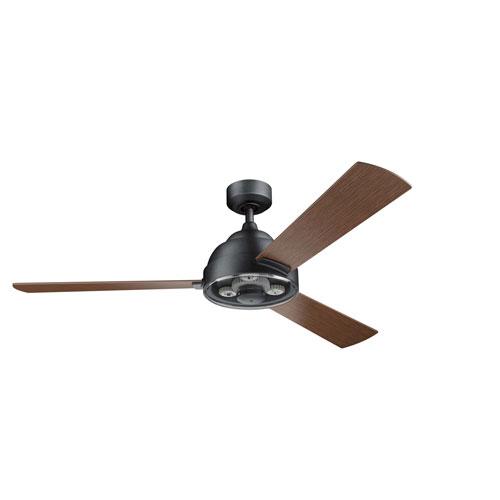 Pinion Distressed Black 60-Inch Ceiling Fan