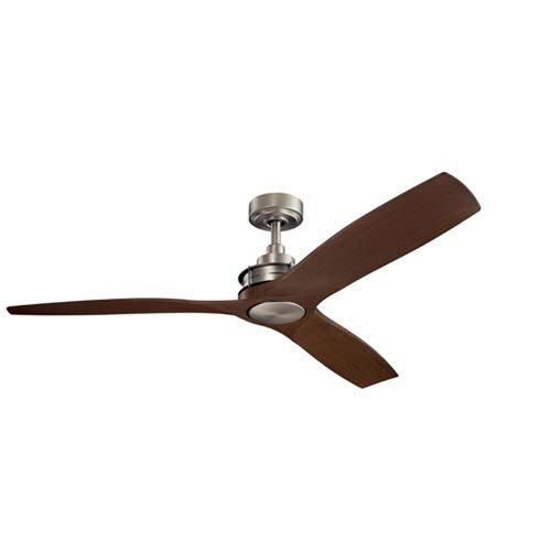 Ried Brushed Nickel 56-Inch Ceiling Fan