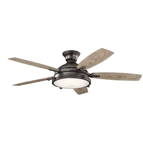 Hatteras Bay Anvil Iron 52-Inch LED Ceiling Fan