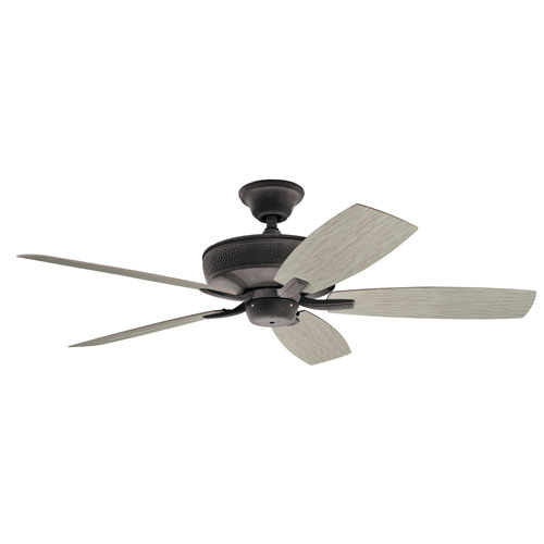 Monarch II Patio Weathered Zinc Ceiling Fan