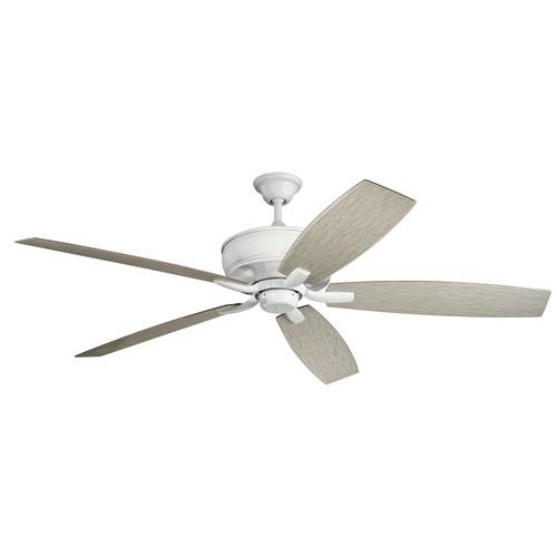 Monarch Matte White Ceiling Fan