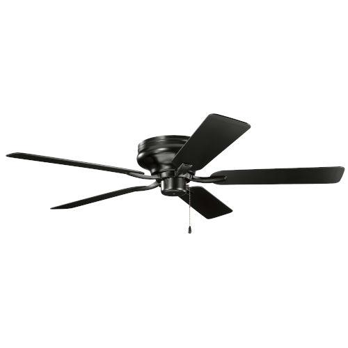 Basics Pro Legacy Satin Black 52-Inch Patio Ceiling Fan