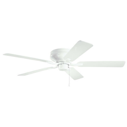 Basics Pro Legacy White 52-Inch Patio Ceiling Fan