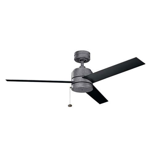 Arkwet Weathered Steel Powder Coat 52-Inch Ceiling Fan