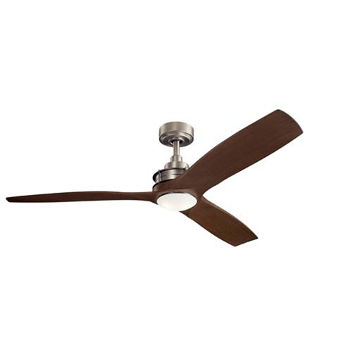 Ried Brushed Nickel LED 6-Inch Ceiling Fan Light Kit