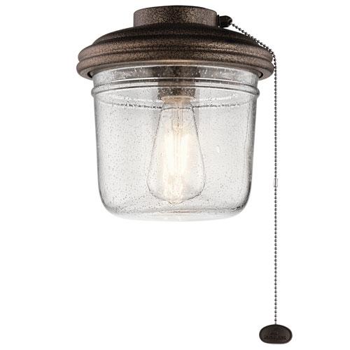 Yorke Weathered Copper Powder Coat LED Light Kit