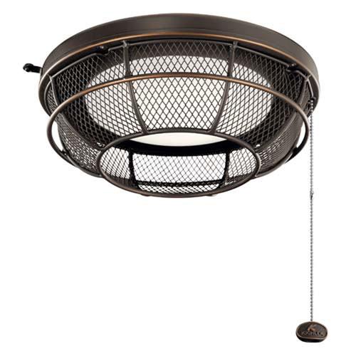 Olde Bronze LED 13-Inch Ceiling Fan Light Kit