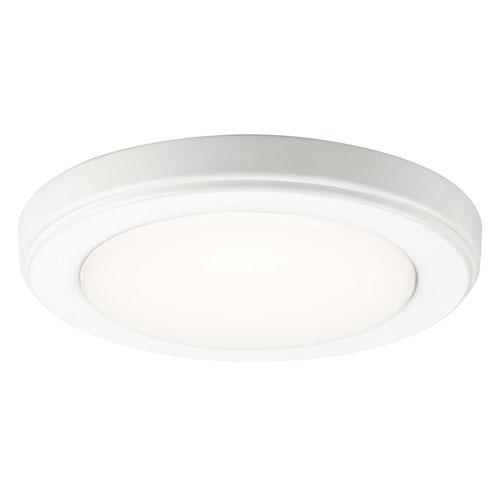 Kichler Zeo 7-Inch Round Flushmount Light in White