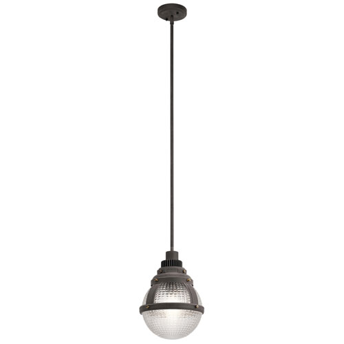 Gavin 1-Light Pendant in Weathered Zinc