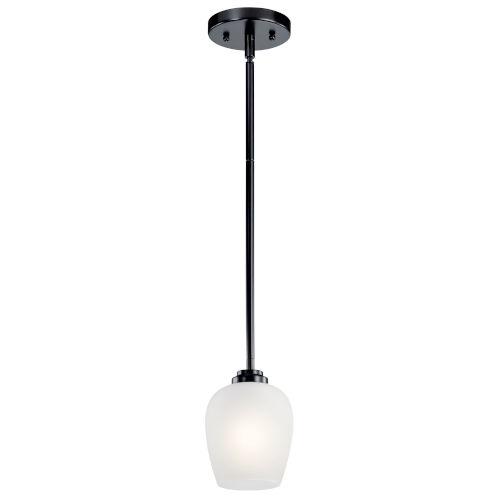 Valserrano Black Five-Inch One-Light Mini Pendant