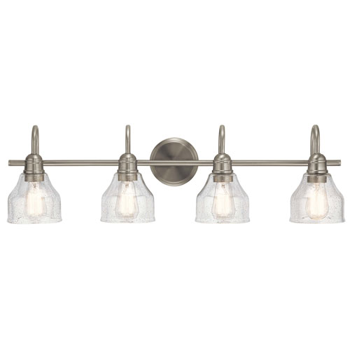Avery 4-Light Bath Light in Brushed Nickel