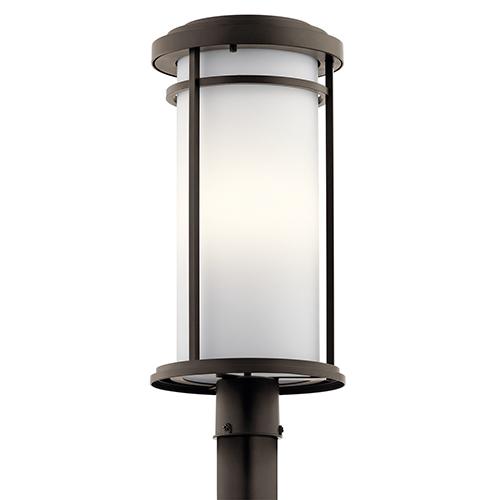 Toman Olde Bronze One-Light Energy Star LED Post Mount