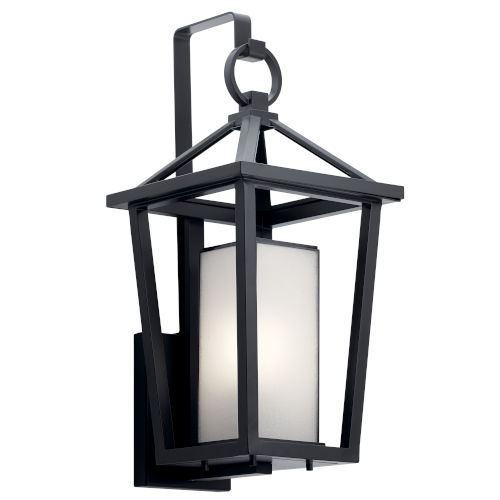 Pai Black 10-Inch One-Light Outdoor Wall Sconce