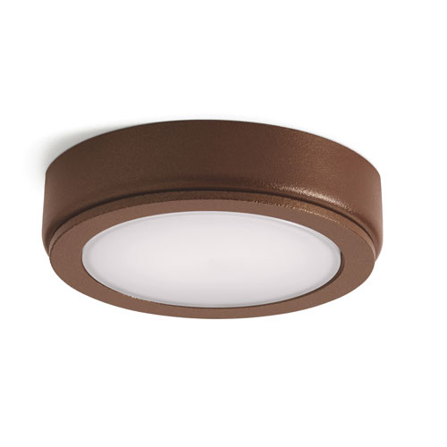 Kichler 4D Textured Bronze 3000K LED Undercabinet Disc