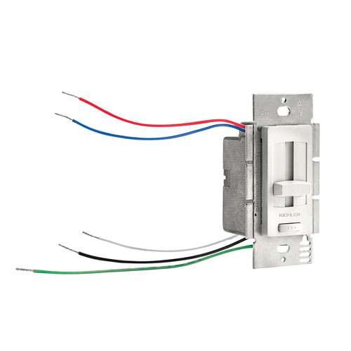 White 60W LED Driver and Dimmer Switch