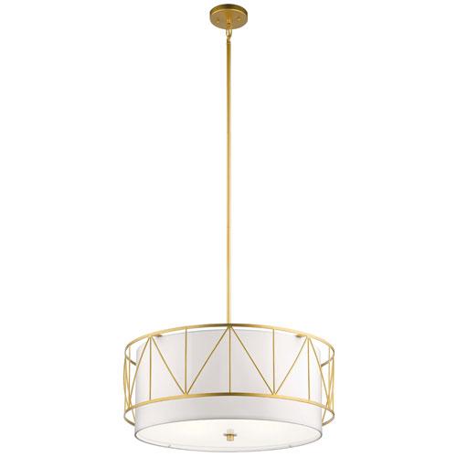 Birkleigh Classic Gold Four-Light Pendant