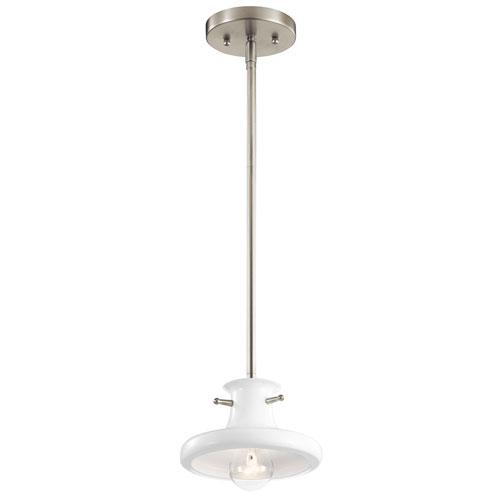 Tilson White One-Light Mini Pendant